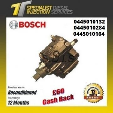 Citroen Jumpy 2.0 Reconditioned Bosch Diesel Fuel Pump - 0445010132 0445010164